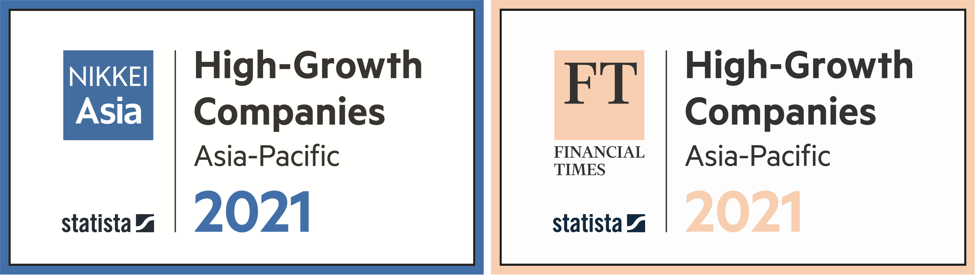 High-Growth Companies Asia-Pacific 2021ランクインのお知らせ